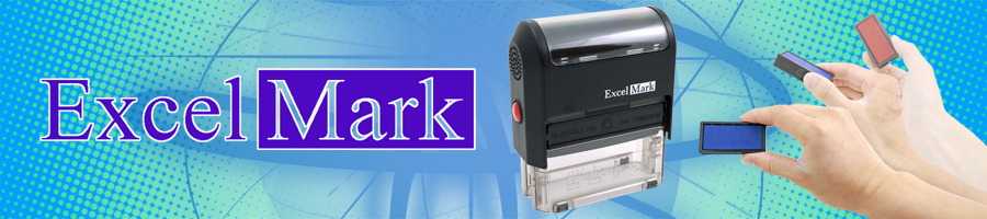 ExcelMark Self-Inking Stamps