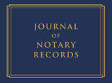 NJ - Notary Journal