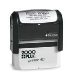 "S40 - S40 Self-Inker <br>7/8"" x 2-1/4"""