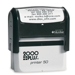 "S50 - S50 Self-Inker <br>1-1/8"" x 2-11/16"""
