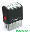 "IDEAL50 KCCO - ""KCCO"" Ideal 50 Chive Stamp"