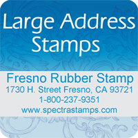 Large Address Stamps