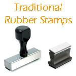 Traditional Wood Stamps