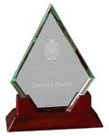 """5C1804 - 5C1804 - 8-1/2"""" Prestige Diamond Glass"""