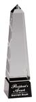 """5C2203 - 5C2203 - 8"""" Crystal Obelisk Award"""