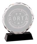 """5C2502 - 5C2502 - 6"""" Crystal Circle Award"""