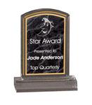 "5C3401 - 5C3401 - 6"" Marbleized Acrylic Award"