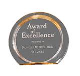 "5C3503 - 5C3503 - 5-3/8"" Halo Acrylic Award"