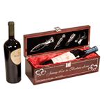 5C4201 - 5C4201- Piano Finish Single Bottle Wine Box