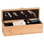 5C4301 - 5C4301 - Bamboo Single Bottle Wine Box