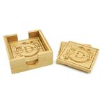 5C4601 - 5C4601 - Bamboo Coaster Set