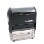 42A3068 - ExcelMark Self Inking Stamp 3068<br>1-1/8` x 2-11/16`