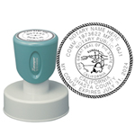 N53CANOTARY - N53 Round California Notary Stamp