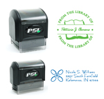 Pre-Designed PSI Monogram and Address Stamps