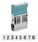 XS-72012 - 72012 - Pre-Inked Number Stamp - Black Ink