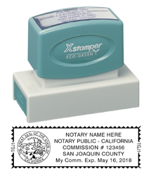 N18 California Notary Stamp