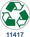 11417 - 11417 - Recycle Symbol